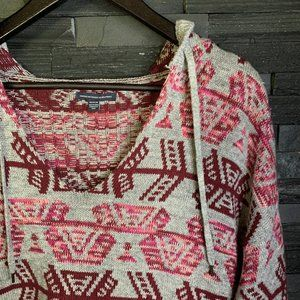 AEO Pullover Knit Hoodie - EUC - M